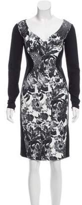 Stella McCartney Floral Print Bodycon Dress w/ Tags