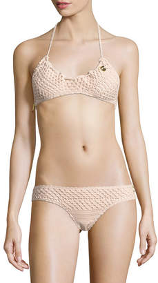 Stella McCartney Swim Crochet Bikini Set