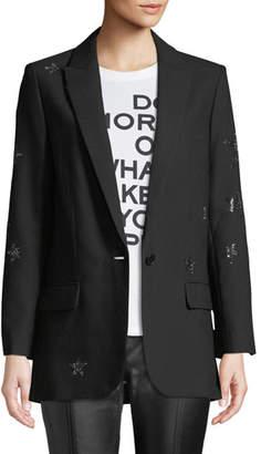 Zadig & Voltaire Viva Star-Embellished Blazer