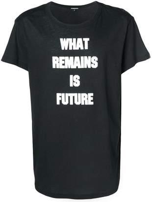 Ann Demeulemeester slogan T-shirt