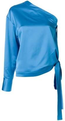 MSGM one-shoulder blouse