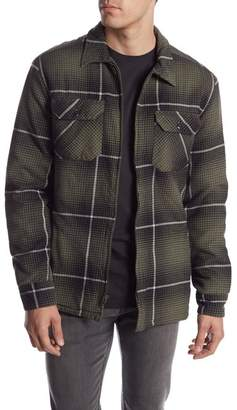 Quiksilver Cypress Road Plaid Jacket