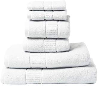 Peacock Alley Dublin Cotton Towels (Set of 6)