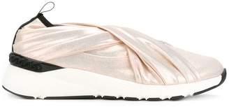 Casadei crossover slip-on sneakers