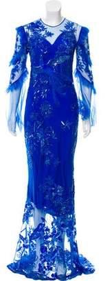 Murad Zuhair Embellished Evening Dress