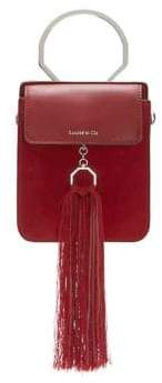 Louise et Cie Julea Leather & Suede Mini Bracelet Bag