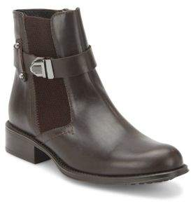 Ulrika Leather Ankle Boots $495 thestylecure.com