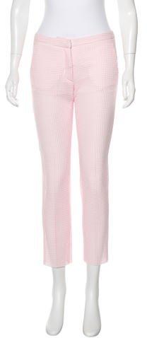 MSGM Cropped Mesh Pants