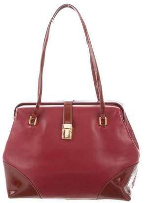 37547020a091 Dolce & Gabbana Structured Leather Bag
