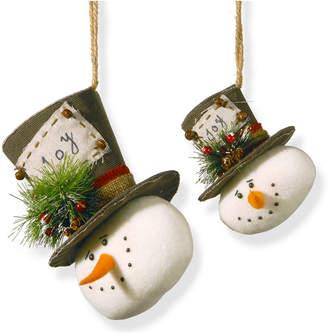 National Tree Company National Tree Snowman Ornament Set