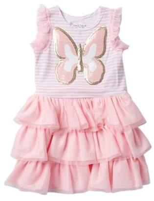 Pippa & Julie Butterfly Tutu Dress (Toddler & Little Girls)