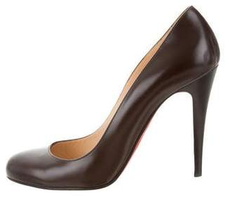 Christian Louboutin Leather Simple Pumps