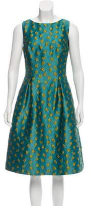 Lela Rose Betsy Brocade Dress