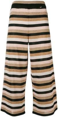 Elisabetta Franchi striped wide-leg trousers