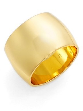 Women's Argento Vivo Band Ring $45 thestylecure.com