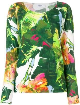 Blugirl palm leaf jumper