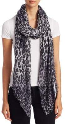 Saks Fifth Avenue Leopard-Print Scarf