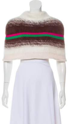 Thakoon Wool Cropped Cape