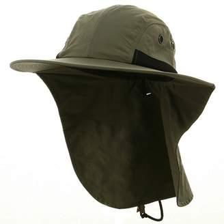 MG 4 Panel Large Bill Flap Hat- W15S48B