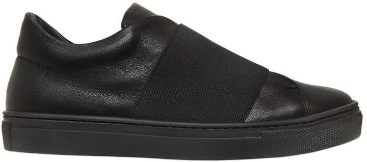 Florens Nappa Leather Slip-On Sneakers