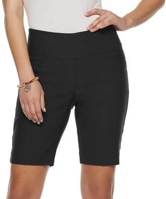 03ae5c5617 Apt. 9 Women's Brynn Wide-Waistband Pull-On Berumda Shorts