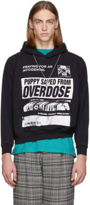 Enfants Riches Deprimes Black Puppy Overdose Hoodie