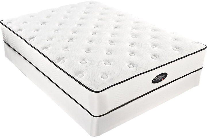 Rooms To Go Simmons Beautyrest Classic Alder Bend King Low Profile Mattress Set