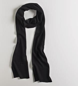 Silk + Cashmere Jersey Scarf