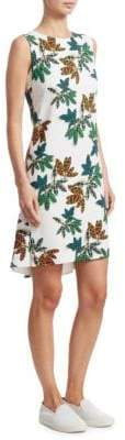Akris Punto Sleeveless Tropical Dress