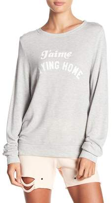 Wildfox Couture Baggy Pullover