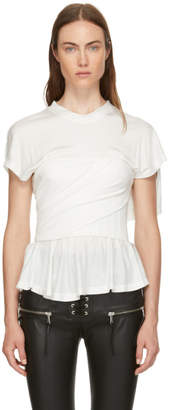 Alexander Wang White Elevated T-Shirt