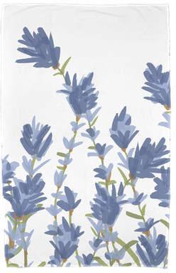 Alcott Hill Orchard Lane Lavender Floral Print Beach Towel