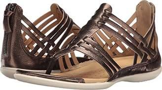 Ecco Women's Women's Flash Lattice T-Strap Huarache Sandal