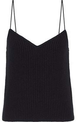 Theory Ribbed-Knit Cashmere Camisole