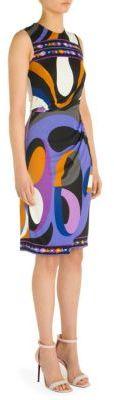 Emilio Pucci Silk Jersey Dress $1,650 thestylecure.com