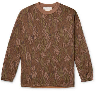 Remi Relief Jacquard-Knit Sweatshirt - Men - Brown