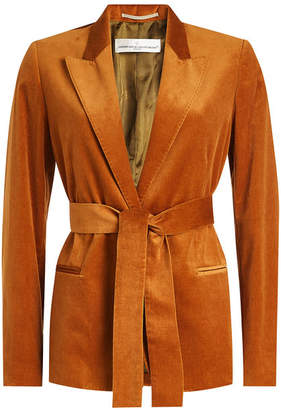 Golden Goose Velvet Jacket with Belt