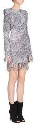 Balmain Tweed Knit Dress