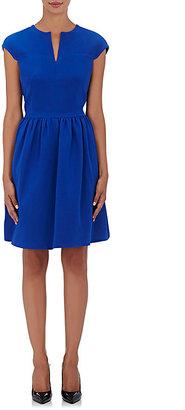 Giorgio Armani Women's Silk Cap-Sleeve Dress $3,995 thestylecure.com