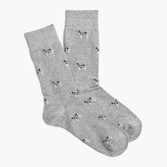 J.Crew Dalmation socks