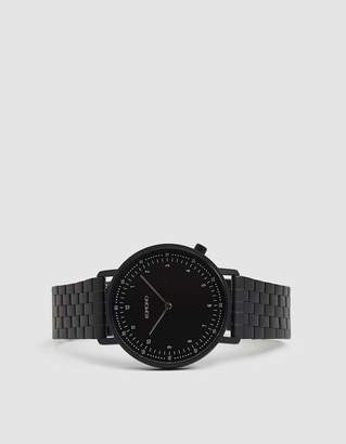 Komono Lewis Estate Watch in Black