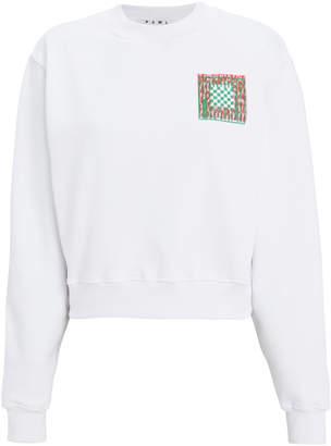 Proenza Schouler Pswl Logo Jersey Sweatshirt