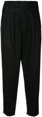 Sartorial Monk cropped tapered trousers