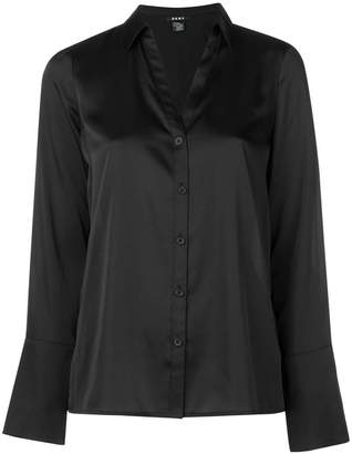 DKNY long-sleeve fitted shirt