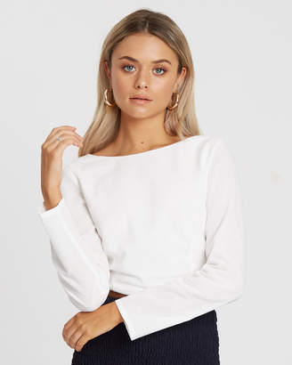 Swell Tie Back Top