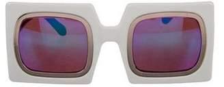 Karen Walker Rowdy Tinted Sunglasses