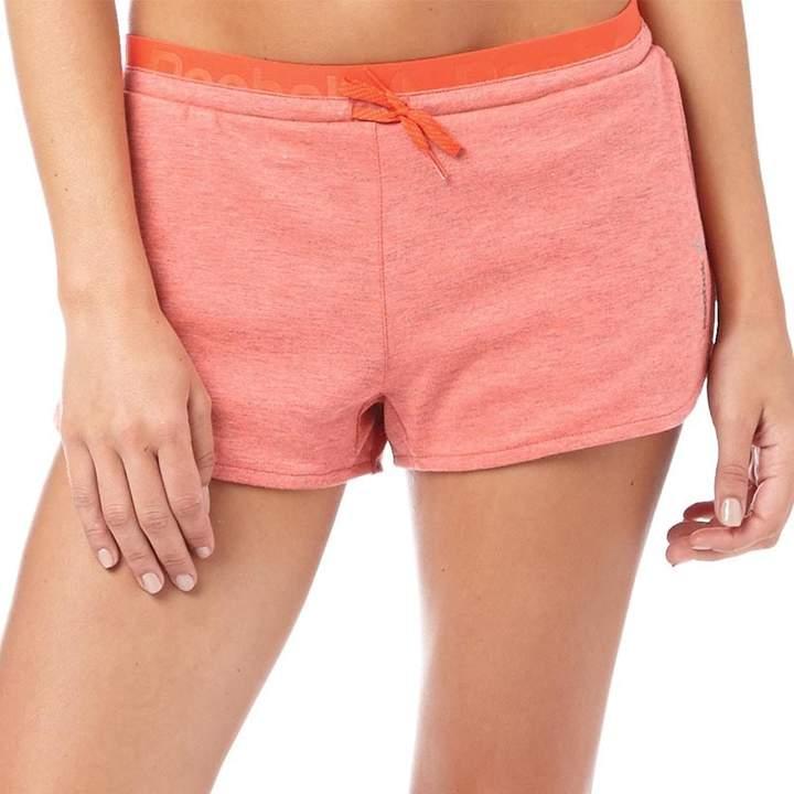 Damen Workout Ready Shorts Rotmeliert