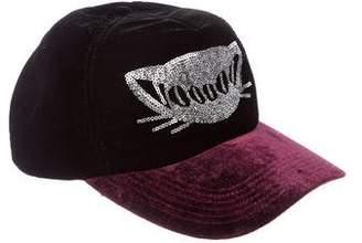 Lucien Pellat-Finet Velvet Voodoo Trucker Hat
