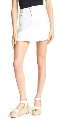 7 For All Mankind A Line Mini Skirt