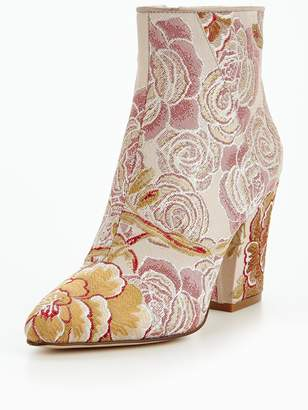 Nine West Savitra High Heel Patterned Boot